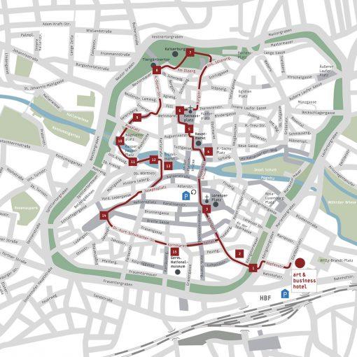 Stadtspaziergang 3 Altstadt